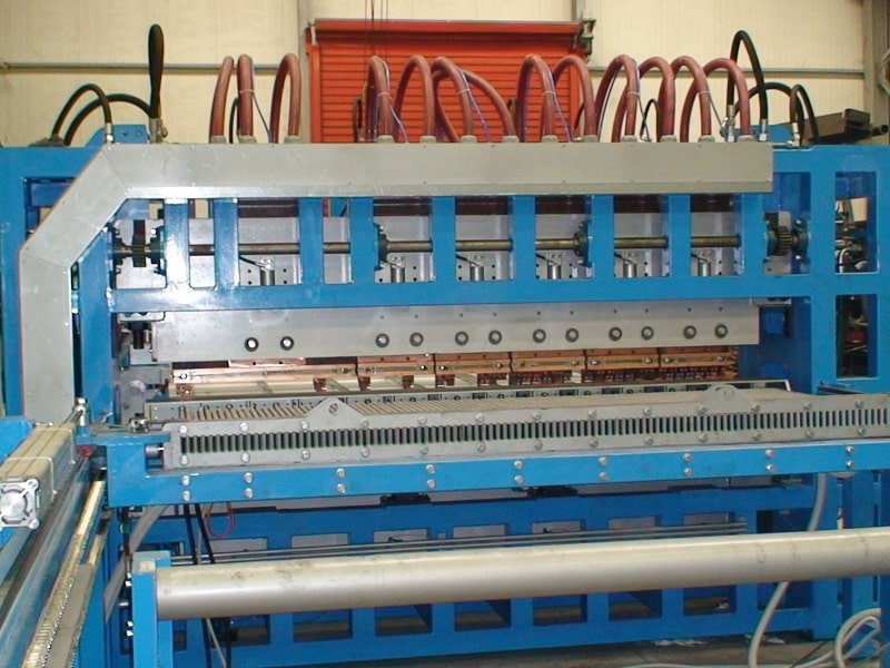 STEEL GRATING PRODUCTION MACHINES