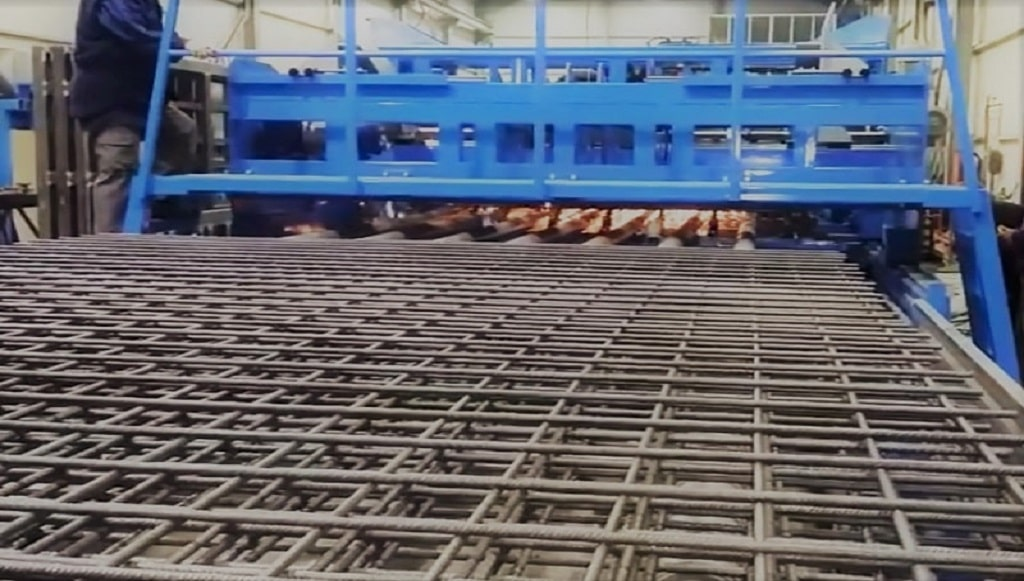 Heavy duty CONSTRUCTION mesh welding machine